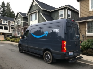 Amazon Delivery Vehicle Insurance Utah